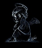 Fluriel, der Engel, der Angst vor dem Fliegen hatte